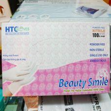 Bao Tay Cao Su HTC - Gang Tay Y Tế HTC Chuyên Dùng Trong Nha Khoa HTC GLoves Beauty Smile
