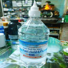 Nước Muối Súc Miệng Natri Clorid 0,9% Loại 1000 ml
