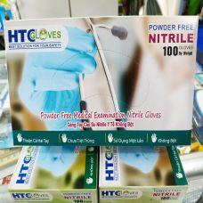 Bao Tay Cao Su HTC - Gang Tay Cao Su HTC Nitrile Y Tế Không Bột