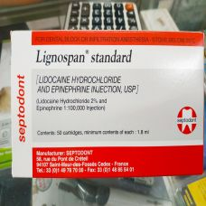 Tê Chích Pháp Lignospan Standard - Thuốc Tê Tiêm - Tê Đỏ Septodont
