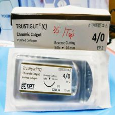 Chỉ Phẫu Thuật Tự Tiêu TRUSTIGUT Chromic Catgut CPT
