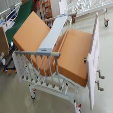 Giường Y Tế - Giường 1 Tay Quay 2 Chức Năng - Nâng Lưng Và Chân