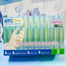 Bao Tay Cao Su HTC Có Bột - Gang Tay Y Tế HTC Có Bột