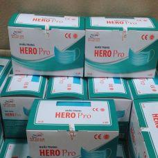 Khẩu Trang Y Tế - Khẩu Trang Kháng Khuẩn 4 Lớp Hero Tây Sài Gòn
