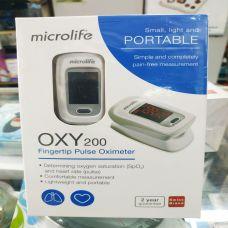Máy Đo Nồng Độ Oxy Trong Máu Microlife OXY 200 - Thiết Bị Đo Nồng Độ Oxy Trong Máu Microlife OXY 200
