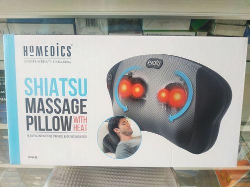 Gối Massage SHIATSU 4 Bi Lăn Kèm Nhiệt HOMEDICS SP - 6H