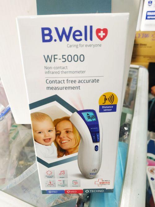 Nhiệt Kế Hồng Ngoại Đo Trán B.Well WF-5000