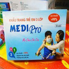 Khẩu Trang Trẻ Em 3 Lớp Medi Pro